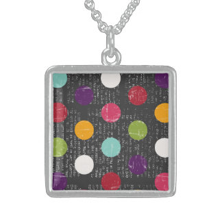 Achievement Independent Exquisite Dazzling Square Pendant Necklace