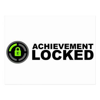 Achievement Locked Postcard