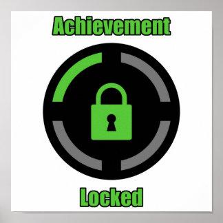 Achievement Locked Poster