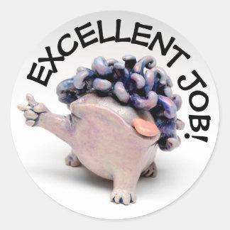 Achievement Stickers for Teachers - EXCELLENT JOB!