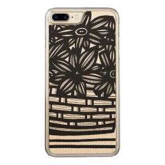 Achievement Thrilling Simple Upstanding Carved iPhone 8 Plus/7 Plus Case