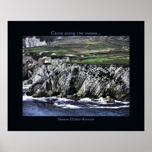 Achill Cliffs Poster Print