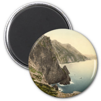 Achill Head, County Mayo 6 Cm Round Magnet
