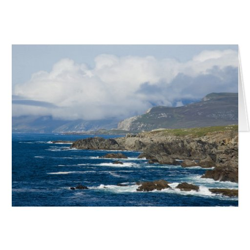 Achill Island, County Mayo, Ireland Card