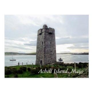Achill Island Postcard