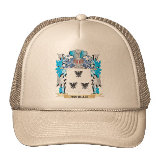 Achille Coat Of Arms Mesh Hats