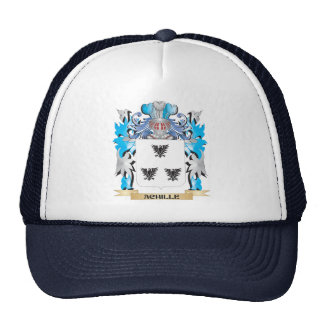 Achille Coat Of Arms Mesh Hat