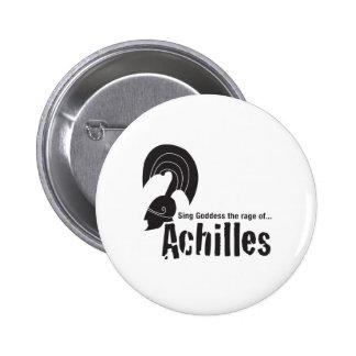 Achilles 6 Cm Round Badge