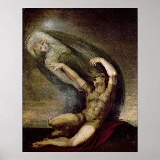 Achilles and the Spirit of Patroclus Print