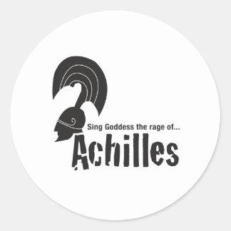 Achilles Round Sticker