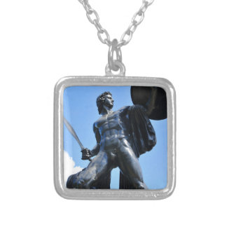 Achilles Silver Plated Necklace