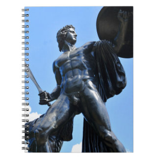 Achilles Spiral Notebook