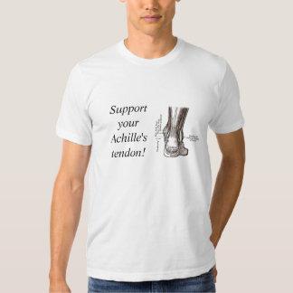 Achille's Tendon T Shirts