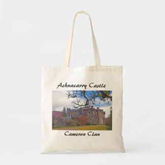 Achnacarry Castle – Cameron Clan Tote Bag