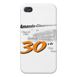 ACHS 30th class reunion logo iPhone 4/4S Covers