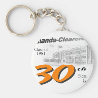 ACHS 30th class reunion logo Key Chain