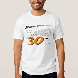 ACHS class of 1981 30th reunion Shirts
