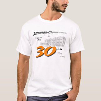 ACHS class of 1981 30th reunion T-Shirt