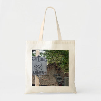 achtung minen tote bag