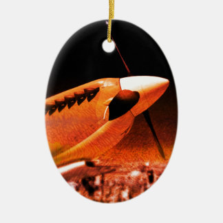 Achtung Spitfire! Christmas Ornament