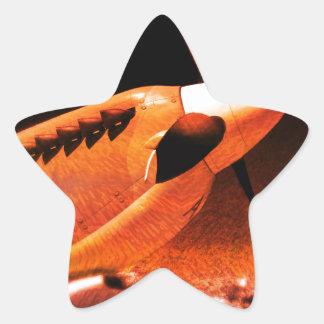 Achtung Spitfire! Star Sticker