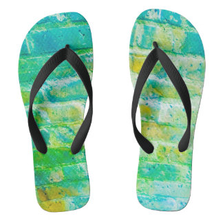 Acid brick sandals