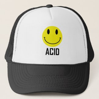 Acid House Baseball Cap T-shirt