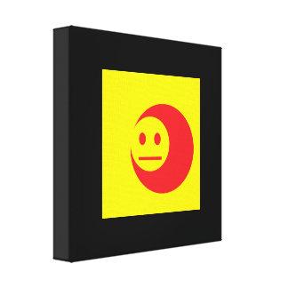 Acid Generation Smiley Canvas