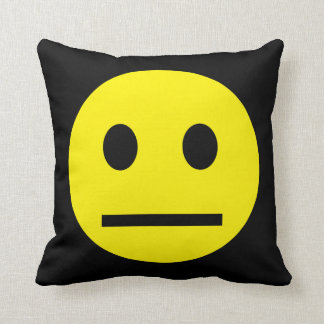 Acid Generation Smiley Cushion