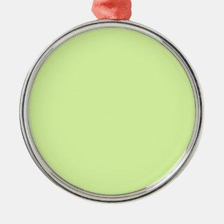 Acid green christmas ornament