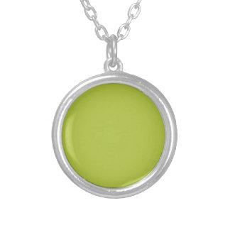 Acid Green Elegant Fashion Color Necklaces