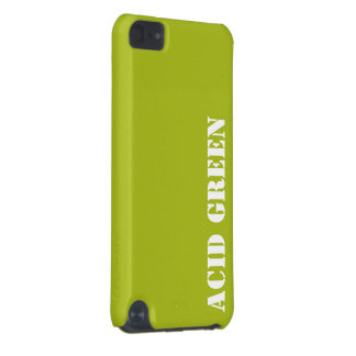 Acid green iPod touch (5th generation) cover