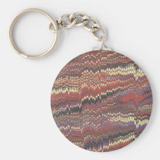 Acid House Basic Round Button Key Ring