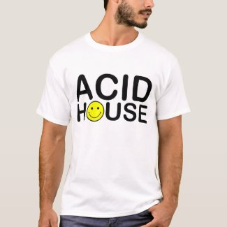 Old Skool Acid House T-shirt for Adults