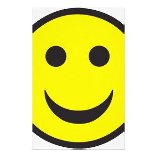 Acid House Smiley Face Customized Stationery