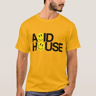 Orange Acid House T-shirt - other colours available