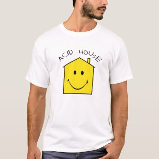 Acid House T-shirt for Men - many colours