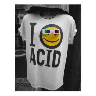 Acid House T-Shirt PostCard