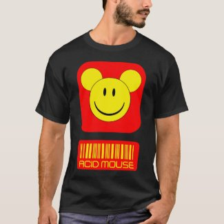 Acid Mouse Funnt T-shirt for Adults