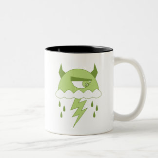 Acid Rain Two-Tone Coffee Mug
