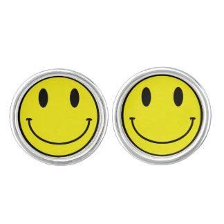 Acid Smiley Cufflinks