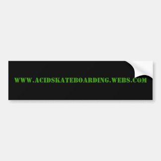 ACIDriders com bumper sticker