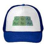Acinar-Ac-In-Ar-Actinium-Indium-Argon Mesh Hats