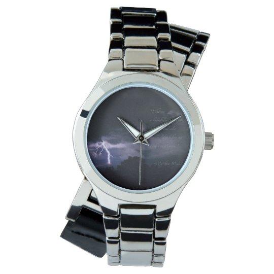 Acknowledge Wrist Watch