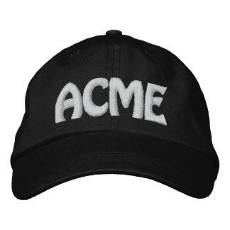 ACME EMBROIDERED CAP