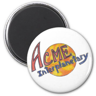 ACME-Interplanetary magnet 2 Inch Round Magnet