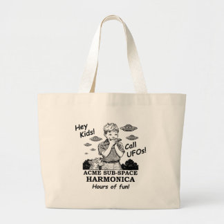 Acme Sub-Space Harmonica (Calls UFOs) Large Tote Bag