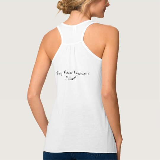 ACNA Women's/Junior's Oversized Flowy Tank