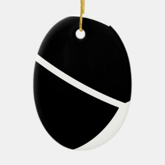 Acorn #3 ceramic oval decoration