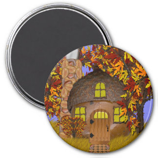 Acorn Faery Cottage Magnet